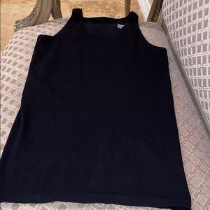 Athleta black tank top size XL